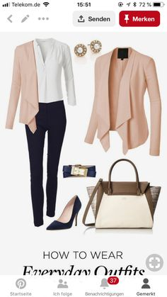 57 Work Attire You Will Definitely Want To Keep outfit ou. 57 Work Attire You Will Definitely Want To Keep outfit outfit ideas Spring Work Outfits, Spring Outfits Women, Casual Work Outfits, Mode Outfits, Office Outfits, Outfit Work, Office Attire, Casual Office, Office Uniform