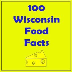 LOVE LOVE LOVE WISCONSIN!!!! And the awesome dairy industry that goes with it.