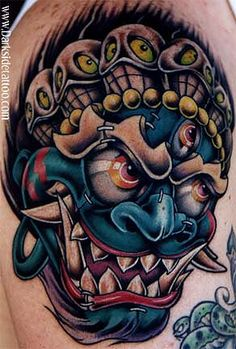 Looking for unique Ethnic Tibetan tattoos Tattoos? Mask