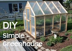Backyard greenhouse building a greenhouse plans for this greenhouse cost only 150 Simple Greenhouse, Greenhouse Gardening, Greenhouse Ideas, Greenhouse Wedding, Homemade Greenhouse, Pallet Greenhouse, Greenhouse Pictures, Outdoor Greenhouse