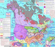 Socio-Linguistics and Language Development: This is an extensive map depicting the different dialects of American English.  It shows the vast amount of language variation within North America and makes it easier to understand why ELLs can have such a difficult time trying to learn English.