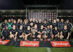All Blacks Steinlager Series 2013 with the Dave Gallaher Trophy. Great work team, you guys are amazing! Feeling on top of the world.