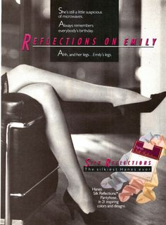 Sz AB Pantyhose; Hanes Silk Reflections; Style 718; Jet Black