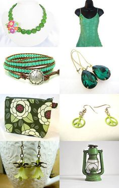 Dreaming of Summer and Green -- by ACCrochet.etsy.com