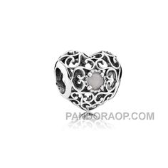 PANDORA JUNE SIGNATURE HEART BIRTHSTONE CHARM HOT, Only$14.00 , Free Shipping! http://www.pandoraop.com/pandora-june-signature-heart-birthstone-charm-hot.html
