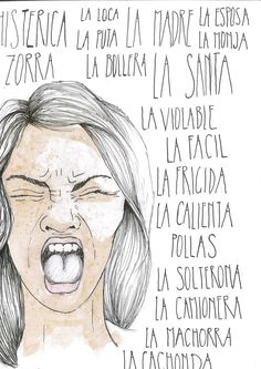 Una Frida analiza los dos extremos que las mujeres siempre luchamos por evitar, los que nos atemorizan y los que limitan nuestra propia naturaleza: ser puta o ser santa. Ilustración: Nerea -Mira Fulanita, vaya pintas que lleva, con esa falda, ayer estaba con uno y hoy con otro… ¡Menuda puta! -Pues mira Menganita, con loSeguir leyendo Powerful Images, Powerful Women, Feminism Quotes, Feminist Af, Political Art, Warrior Girl, Intersectional Feminism, Hurt Quotes, Anti Bullying
