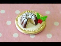 ▶ ☆ Christmas Pudding-cake ☆