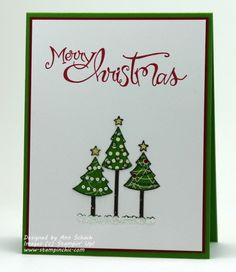 Trio of Trees ---- SU Polar Party and Sassy Salutations