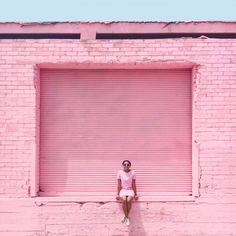 Pink photo spots in