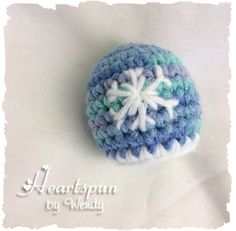 Frozen Inspired Snowflake EOS Lip Balm Holder by HeartspunByWendy