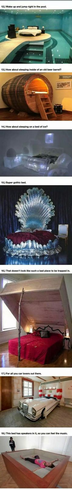 Funny pictures about 25 Amazing Beds Will Make You Wish It Was Nap Time. Oh, and cool pics about 25 Amazing Beds Will Make You Wish It Was Nap Time. Also, 25 Amazing Beds Will Make You Wish It Was Nap Time photos. Dream Rooms, Dream Bedroom, Pool Bedroom, Bedroom Bed, Bed Rooms, Awesome Bedrooms, Cool Rooms, Future House, My House