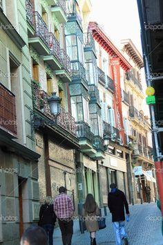 auf den Straßen von madrid - Stockdatei: 25006783