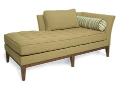 Shop for Vanguard Left Arm Chaise, W146-LCL, and other Living Room Chaises at Vanguard Furniture in Conover, NC. Also Available in Leather and Fabric/Leather.