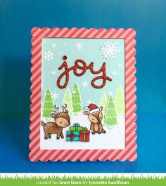 the Lawn Fawn blog: Design Team Holiday Favorites!