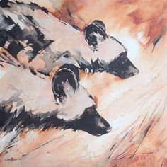 Wild Dogs Hunting by Lin Barrie
