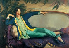 Power Women Collection [['Gertrude Vanderbilt Whitney' by American painter Robert Henri leader of the Ashcan School of American Realism. Oil on canvas, 50 x 72 in. via Whitney Museum of American Art]] American Realism, American Artists, Art Challenge, Museum Exhibition, Art Museum, William Glackens, Man Ray, Ashcan School, Robert Henri