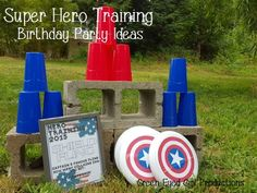Cash turned 2 this July and so what better way to celebrate than hosting a little Super Hero Training! Captain America is his favorite and with a July birthday we landed on a red/white/blue color theme. How to host a Super Hero Training Party for Toddlers Goals: 1) Make all games easy and fun to ... [Read more...]