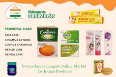 The Switzerland's premier #Online #Indian #Grocery #Shopping Store for Indian Food, Spices and Indian Sweets.  Visit, www.desimarkt.ch