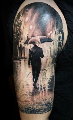 Biro-Blanka-tetovalo-tattooist-tattoo-artist-Regen-Mann-rain-realistic-2704