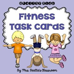 These fitness task cards from Mrs. Beattie's Classroom are perfect for use in the gymnasium, on the playground, or even as brain breaks in the classroom!