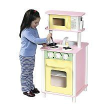 Guidecraft G97257 Pastel Kitchenette Play Set ** This is an Amazon Affiliate link. More info could be found at the image url.
