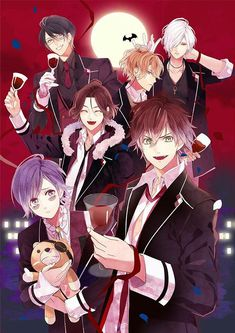 Diabolik LoversYou can find Diabolik lovers and more on our website. Girls Anime, Cute Anime Boy, Anime Love, Anime Guys, Otaku Anime, Manga Anime, Anime Art, Vampire Boy, Vampire Knight