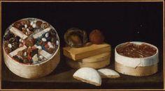 Still Life with Sweetmeats Unidentified artist, Spanish, 17th century,