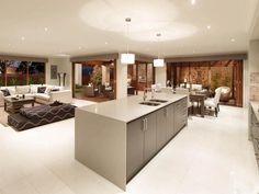 17 Top Kitchen Design Trends : Rooms : Home & Garden Television Galley Kitchen Design, Kitchen Design Gallery, Best Kitchen Designs, Kitchen Tops, Open Plan Kitchen, Kitchen Decor, Kitchen Ideas, Kitchen Counters, Kitchen Islands