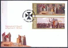 A 12 de Março de 1514, chega a Roma uma faustosa embaixada enviada ao papa Leão X pelo rei D. Manuel I de Portugal. Entre os muitos animais exóticos (de África e não conhecidos na Europa) que acompanhavam a embaixada, ia um elefante carregado com uma arca de ouro.