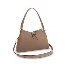 Ponthieu PM ($2,550) ❤ liked on Polyvore featuring bags, handbags, shoulder bags, leather crossbody handbags, brown crossbody purse, brown shoulder bag, brown leather purse and leather handbags