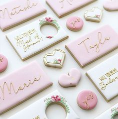 Nina Marie Sweet Designs specialise in custom cakes and cookies for all events in Perth West Australia. Baby Cookies, Iced Cookies, Cute Cookies, Wedding Shower Cookies, Wedding Cake Cookies, Sugar Cookie Icing, Sugar Cookies, Anniversary Cookies, Cookie Designs
