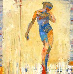 .jylian guston expressive figure paintings