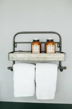 """Dimensions: 18"""" x 7"""" x 12.25"""" These cuTe towel racks add the perfect touch of vintage flare. Seen on popular HGTV shows, it's a must have!"""