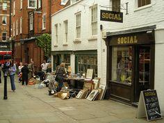 Hampstead, London (loved this little market area! got some lovely little treasures!).