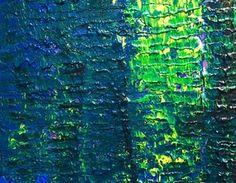 """Abstract Garden 2: 24""""x30"""""""