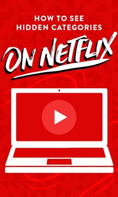 tons of hidden categories — here's how to see them Easily search through Netflix with the master list of category codes.Easily search through Netflix with the master list of category codes. Codes Netflix, Netflix Users, Netflix Account, Netflix Hacks, Tv Hacks, Netflix Help, Netflix Netflix, Netflix Gift, Entertainment