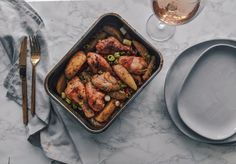 One-Pan Baked Chicken & Potatoes. – Kezia Eniang