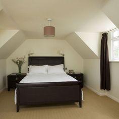 Glamorous attic bedroom | Small bedrooms | Bedroom lighting ...