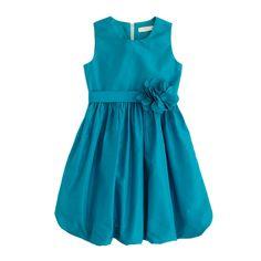 crewcuts Girls Silk Taffeta Gillian Dress (Size 2 Kid)