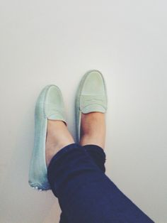 The most comfortable shoes ever. Tod's loafers