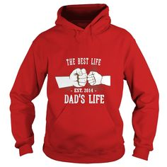 The Best Life Dad's Life Est. 2014 Father Son Daughter Shirt #gift #ideas #Popular #Everything #Videos #Shop #Animals #pets #Architecture #Art #Cars #motorcycles #Celebrities #DIY #crafts #Design #Education #Entertainment #Food #drink #Gardening #Geek #Hair #beauty #Health #fitness #History #Holidays #events #Home decor #Humor #Illustrations #posters #Kids #parenting #Men #Outdoors #Photography #Products #Quotes #Science #nature #Sports #Tattoos #Technology #Travel #Weddings #Women