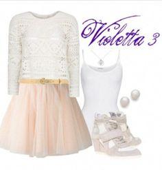 violetta outfit seizoen 3