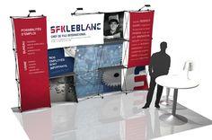 Kiosque d'exposition GE leblanc