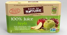The juices will be offered in Apple, Fruit Punch and Berry flavours and all have been verified by the Non-GMO Project.Made from real fruit, the juices are naturally sweetened and contain no added sugar. They contain no artificial preservatives, flavours or colours.