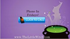 Phone In Fridays for psychic tarot reading - ONLY .99 cents a minute! AWESOME deal, when the reader can get your question answered in under 10 minutes.