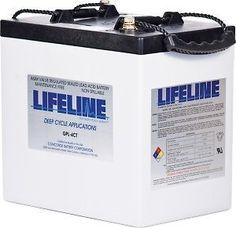 Lifeline GPL-4CT Deep Cycle RV Battery 6V 220Ah Camper Trailer RV #LifelineBatteries