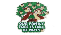 Disney Chip & Dale Pin - Our Family Tree is Full of Nuts