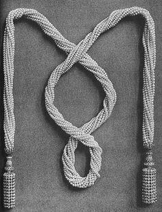 The Jewels of Princess Vera Nikolaevna Lobanov Rostovsky (or Lobanoff de Rostoff 1836-1914), née Dolgoruky