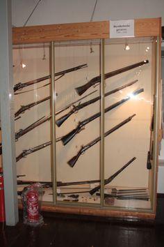 Et udsnit af vore skydevåben fra år 1000 og frem næsten til dato