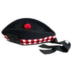 Scottish wool glengarry hat red Torie ribbon Scottish Hat, Best Sellers, Ribbon, Wool, Hats, Red, Tape, Hat, Band
